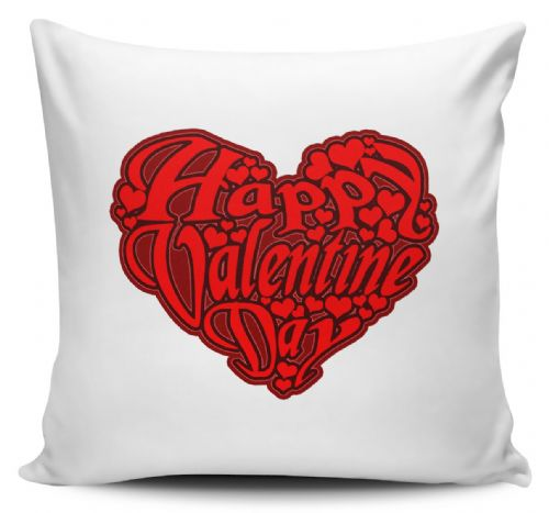Roll over image to zoom in   I Love You Forever & Ever Novelty Cushion Cover